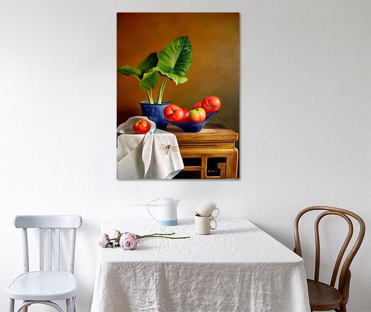3D Pflanzen Obst Fototapeten Wandbild BildTapete Familie AJSTORE DE Lemon