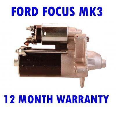 FORD FOCUS MK3 MK III 1.6 TDCI 2011 2012 2013 2014 2015 STARTER MOTOR