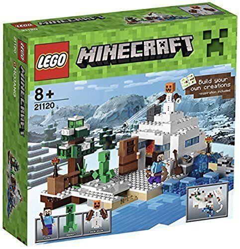 LEGO ® 21120 21120 21120 Minecraft neige cachette Snow Hideout NEUF neuf dans sa boîte NEW SEALED d91d9d