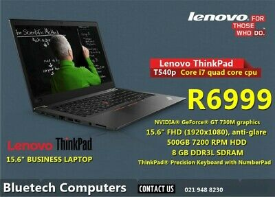 Lenovo t540p in Western Cape | Gumtree Classifieds in
