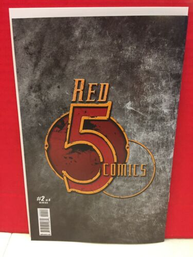 Riptide #2 Of 4 Red 5 Second Printing  Comic Book