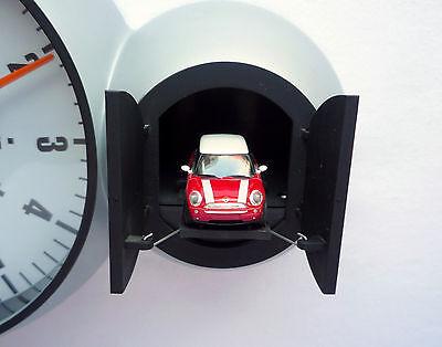 MINI John Works Cooper S Red Chili Speedometer Design Cuckoo Wall Watch Clock