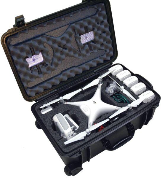 dji phantom 4 drone waterproof wheeled case silica storage. Black Bedroom Furniture Sets. Home Design Ideas