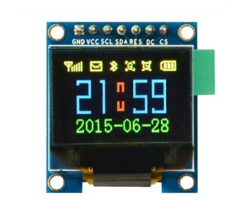 NEW  0.95 inch SPI Full Color OLED Display SSD1331 96X64 Resolution for Arduino