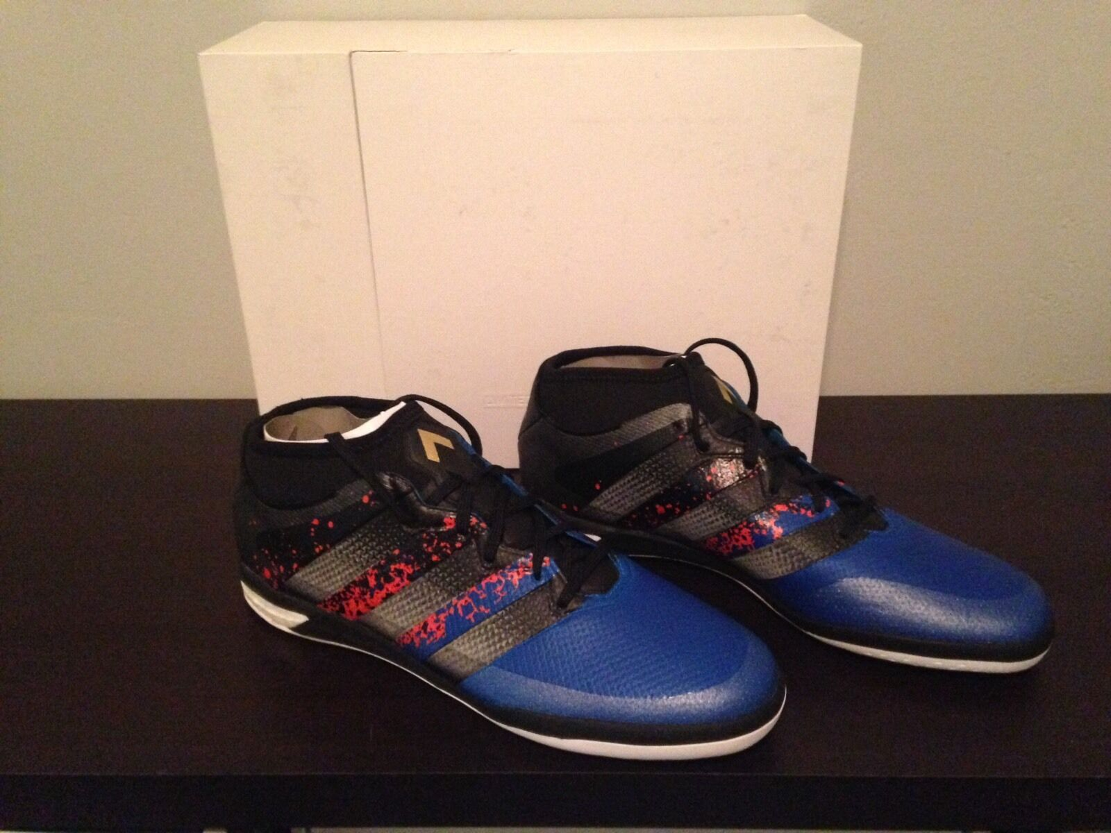 ADIDAS 16.1 ACE STREET PARIS PACK SIZE 10 BB4259 INDOOR LIMITED EDITION
