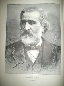 GIUSEPPE-VERDI-PORTRAIT-THEATRE-NATIONAL-OPERA-COMIQUE-FALSTAFF-GRAVURES-1894