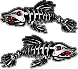 Image Is Loading 2 3 034 X 7 Fish Skeleton