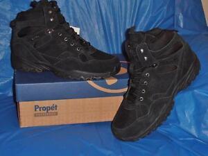 Propet-Men-039-s-WaterProof-Boot-Leather-amp-Nylon-Sure-Grip-Rubber-Sole-14-M-D