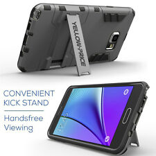 Armor Hybrid Case Slim 2 in 1 Cover with Stand For Samsung Galaxy Note 5