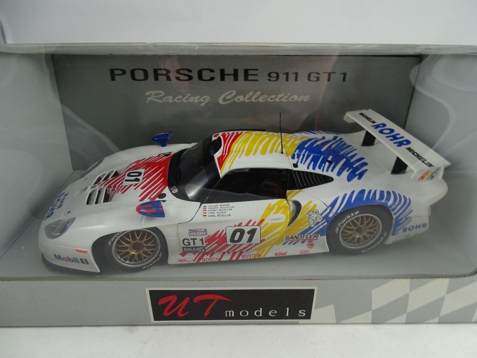 1 18 AUTOart   UT   39611 Porsche 911 GT1 Daytona Rohr MotorSport  1  RARITÄT §