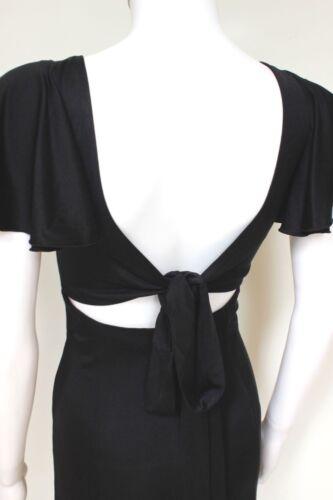 Issa Tie Silk Backless Uk Dress Black 6 wgAFx8