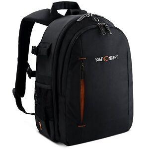 K-amp-F-Concept-Super-Large-Camera-Backpack-Bag-Rucksack-DSLR-Case-for-Nikon-Canon