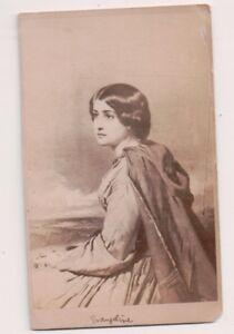 Vintage-CDV-Album-Filler-034-Evangeline-034-Poem-by-Longfellow