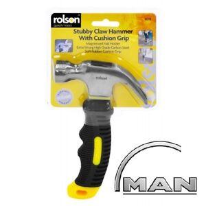 Hammer-Claw-Stubby-Magnetic-Grip-Diy-Handle-Soft-Tool-Tools-Head-8oz-10019