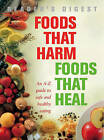 Foods That Harm, Foods That Heal: An A-Z Guide to Safe and Healthy Eating by Pamela Mason, Sheena Meredith, Fiona Hunter (Hardback, 2007)