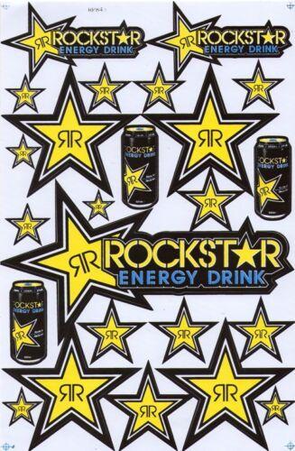New Rockstar Energy Motocross Racing Graphic stickers//decals//waterproof.