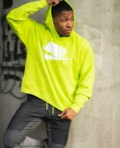 apretón estar impresionado Camello  Nike Sportswear Nsw Para Hombre Con capucha Terry francés M Cyber Verde  Jersey De Gran Tamaño   eBay