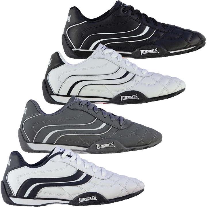 Lonsdale Camden II Men's Leather Shoes 41 42 43 44 45 46 47 48 49 50 Sneaker New