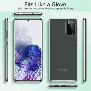 Custodia-trasparente-per-Samsung-Galaxy-S20-S20-S10-SILICONE-Plus-Note-Cover-Telefono-Gel