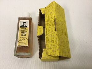 Elvis-RARE-1957-Teddy-Bear-Perfume-With-Original-Box-Direct-From-Memphis