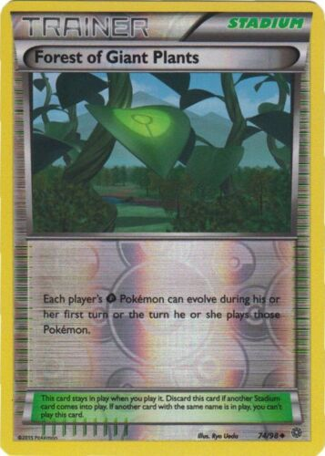 Forest of Giant Plants - XY Ancient Origins Uncommon Reverse Holo - 74//98 x1