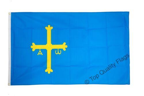 Spain Asturias FLAG asturian Banner 90x150cm 5ftx3ft