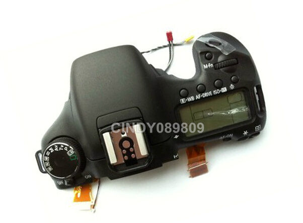 Top Cover Head Cover Case Unit For Canon 7D SLR Camera Replacement