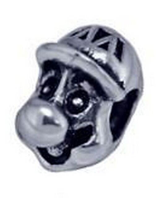 COOL Super Mario bros Party Kart Real Sterling silver 925 jewelry bead charm