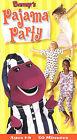 Barneys Pajama Party (VHS, 2001)