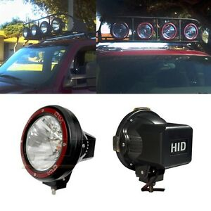 a3ce84c664b4 1X Universal 7 Inch Built-in Xenon HID 4x4 Off Road Rally Driving ...