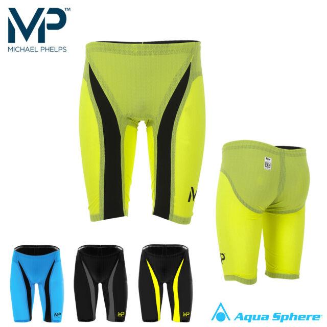 d63b0e4a83 Aqua Sphere Michael Phelps X-Presso Mens Swimming Training Jammer Swim  Shorts