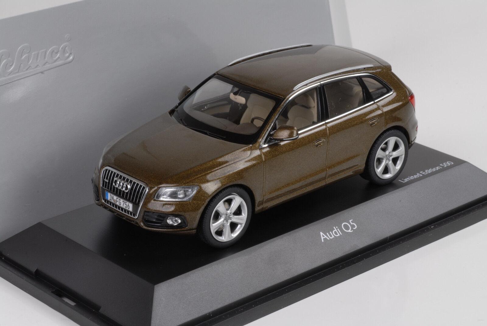 2012 Audi Q5 Mayabrown 1 43 Schuco