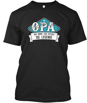 Clothing, Shoes & Accessories Opa Opi Großvater Großpapa Legende Stylisches T-shirt Attractive Designs; Activewear
