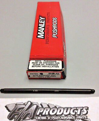"""Manley 25769-1 Swedged End 8.380/"""" Long .080/"""" Wall 3//8/"""" 4130 SINGLE Push Rods"""