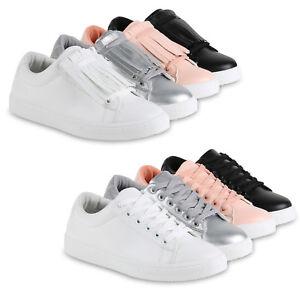 Damen Sneakers Abnehmbare Fransen Sportschuhe Schuhe 814582 Top
