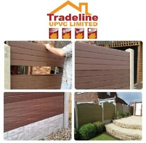 Image Is Loading Upvc Fencing Panels That Can Fit Into Your