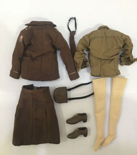 21st Century 1//6 Scale Female Soldiers WWII Soviet Union Clothes Suits