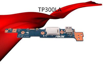 Original For ASUS TP300LA Q302L TP300L TP300LD USB SD IO BOARD TP300LA/_IO/_BOARD