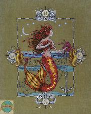 Cross Stitch Chart / Pattern ~ Mirabilia Bohemian Vagabond Gypsy Mermaid #MD126