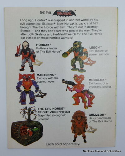 Masters of the Universe MINI COMIC BOOK Vintage MOTU He-Man #1 YOUR CHOICE