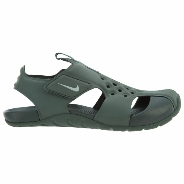 358445bd81c2 Nike Sunray Protect 2 Little Kids 943826-300 Clay Green Sandals Youth Size  13