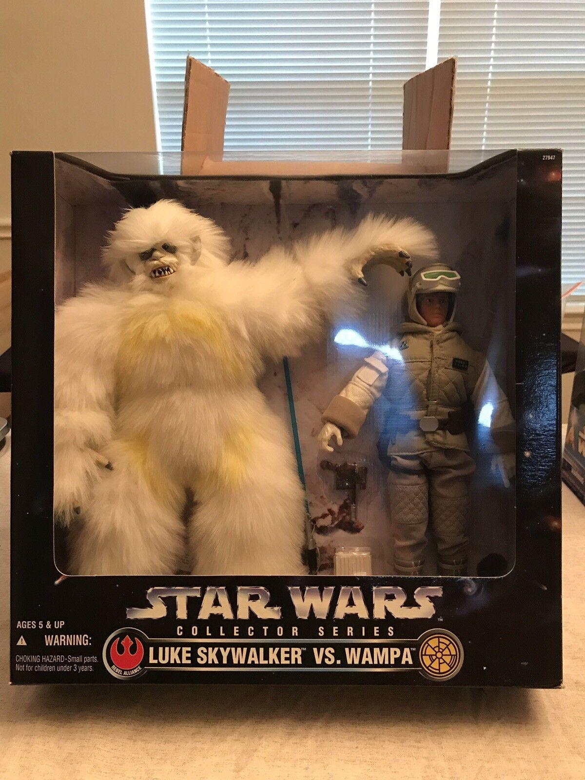 "Star Wars Collector Series Luke Vs. Wampa 12"""