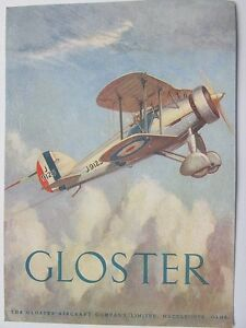 Pack of 15 New Vintage Ad Gallery Postcards No 18 Gloster Fighter - Cheltenham, United Kingdom - Pack of 15 New Vintage Ad Gallery Postcards No 18 Gloster Fighter - Cheltenham, United Kingdom