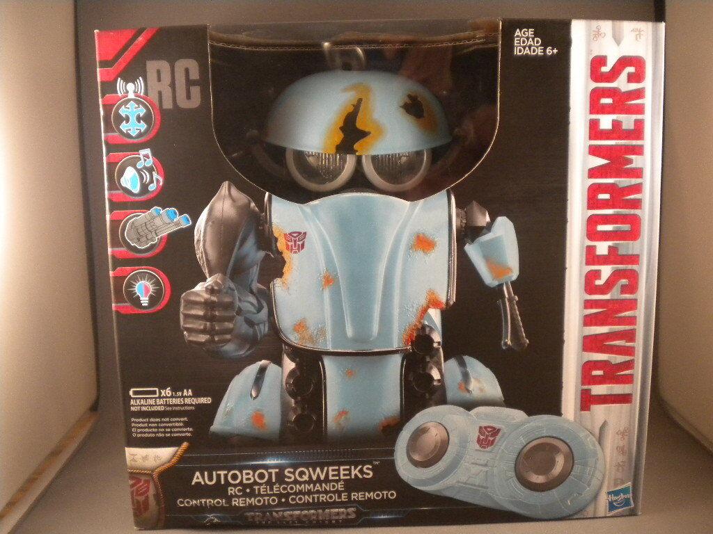 NEW Transformers The Last Knight TLK Autobot SQWEEKS RC Remote Control HASBRO