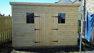 Garden Sheds 3x2 garden shed super heavy duty tanalised 12x6 pent 19mm t&g. 3x2.