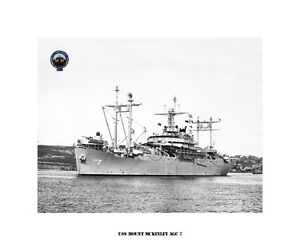 USN Navy USS Mathews AKA 96 Naval Ship Photo Print