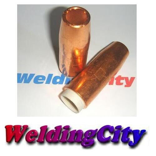 WeldingCity 2-pk Gas Nozzle 4394 for Bernard MIG Welding GunUS Seller 1//2/""