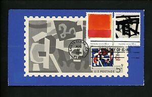 Ranto-Cachet-US-FDC-3236-s-t-on-1259-American-Art-Series-Kline-Fine-Arts-1998