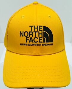 THE-NORTH-FACE-034-Classic-Sport-034-Baseball-Hat-Adjustable-Size-Ball-Cap-Yellow-NWT