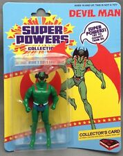 �� DEVIL MAN �� Super Friends Super Powers Mint on Card Made by ITW